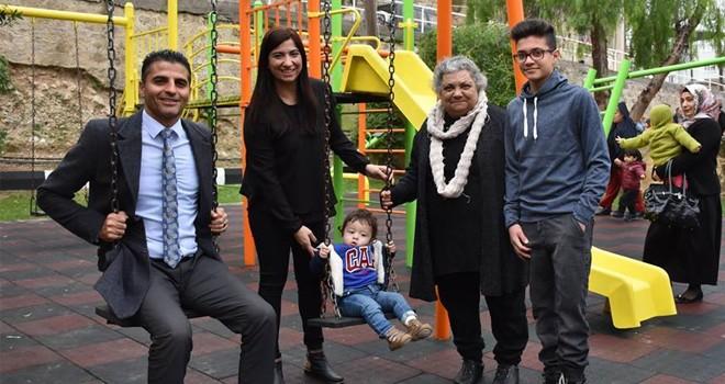 Ayhan Gazihan Parkı törenle açıldı