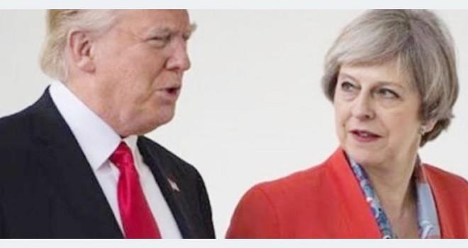 Trump, May ile Suriye'yi konuştu