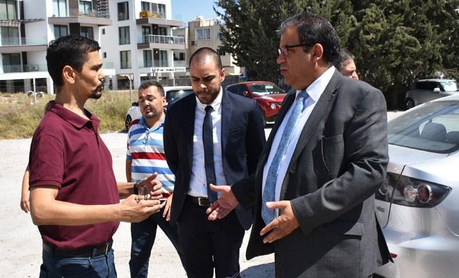 Lefkoşa Devlet Hastanesi'nin park kapasitesi arttırılıyor