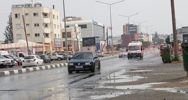 Yağmur çiseleyip geçti, vatandaş mutlu oldu