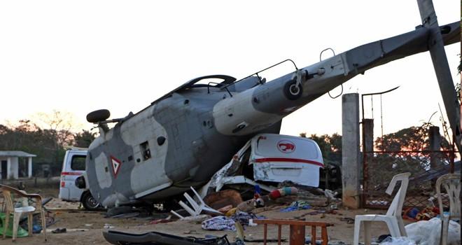 Meksika'da helikopter faciası: 13 ölü, 15 yaralı