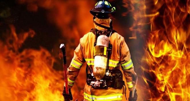 Saç kurutma makinesi yangına neden oldu
