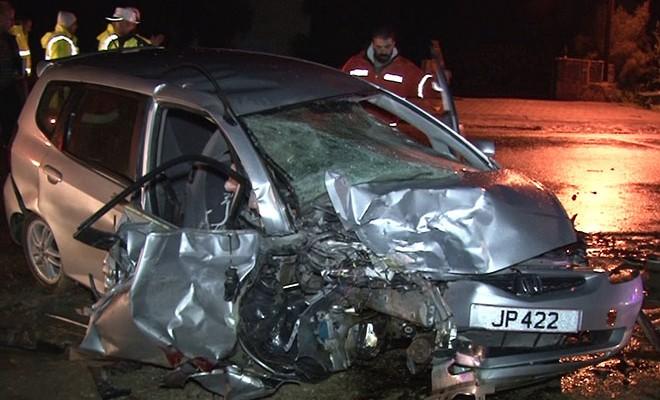 Karşıyaka'da feci kaza: 1 ölü!