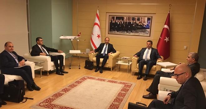 Dışişleri Bakanı Özersay Ankara'da