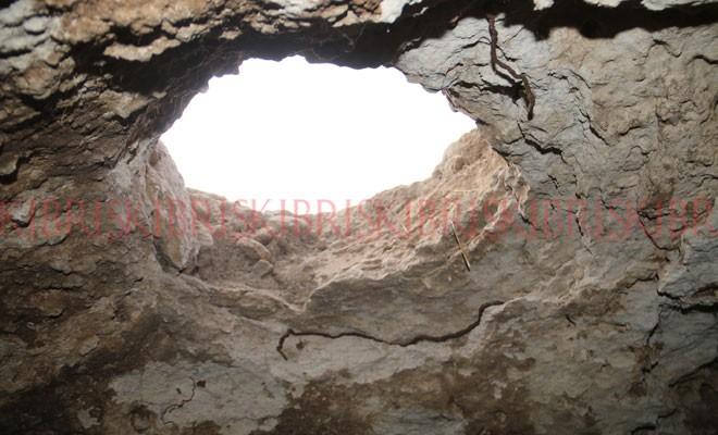 700 yıllık yeraltı deposu bulundu