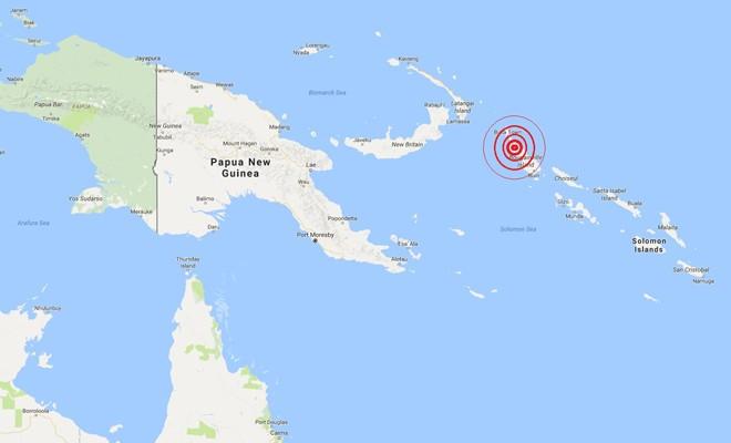 Papua Yeni Gine'de 8 şiddetinde deprem: Tsunami alarmı verildi