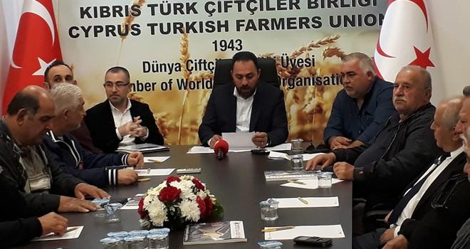Çiftçiler Birliği Genel Kurulu 31 Mart'ta