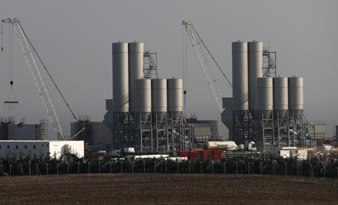 Nükleer santrale yeşil ışık