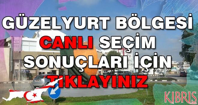 Güzelyurt'ta UBP 35.93, CTP 21.22, HP 16.95