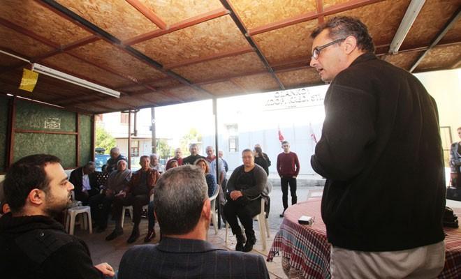 Erhürman, Ozanköy Ocak Örgütü'nde Girnelilerle buluştu