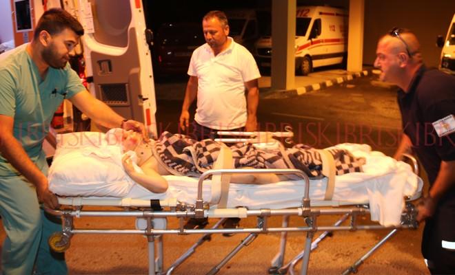 Tuzla'da kaza: 5 yaşındaki çocuk ağır yaralı