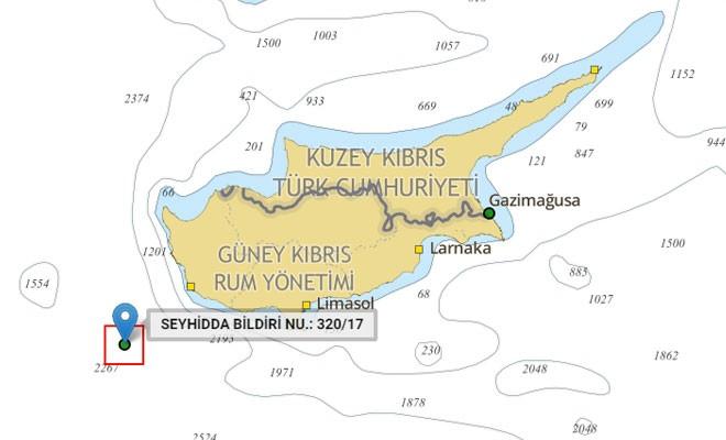 Türk Deniz Kuvvetleri, Baf açıklarında atış tatbikatı yapacak