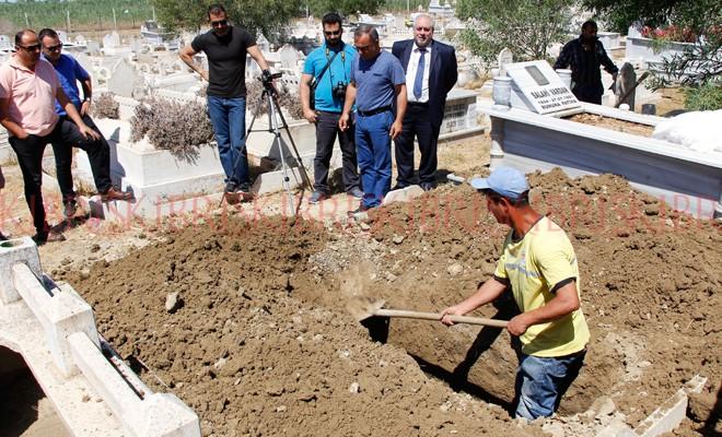 Akile Vardan'ın da mezarı açıldı
