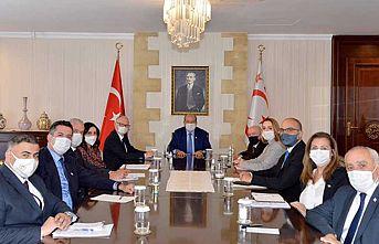 Cumhurbaşkanlığı'nda Kıbrıs konulu değerlendirme toplantısı yapıldı