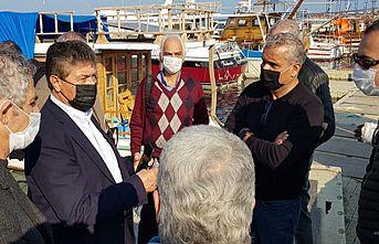 Gazimağusa Limanı'ndaki ahşap iskelenin tamiratı için girişim başlatıldı