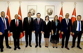 Dostluk Grubu Heyeti, TBMM AB Komisyonu Başkanı Gülpınar ile görüştü