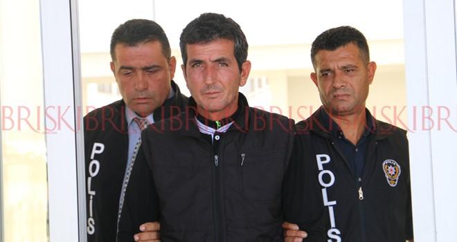 Ersalan, Ercan'da yakalandı
