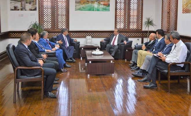 Uluslar arası kongre için Turizm Bakanlığı'na işbirliği teklifi