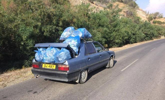 40 poşet çöp topladılar