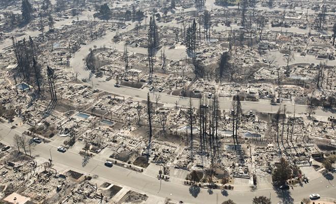 Kaliforniya'daki yangın durdurulamıyor, en az 400 kişi kayıp