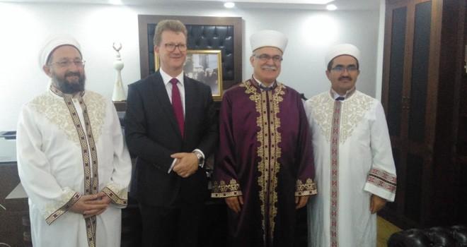 İngiliz Yüksek Komiseri, Atalay'ı ziyaret etti