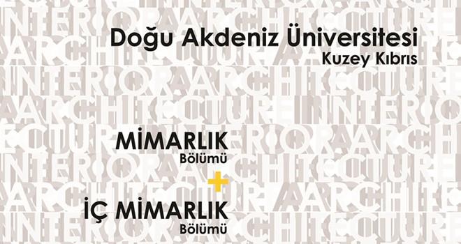 DAÜ Mimarlık Fakültesi sergisi 27 Kasım'da açılacak