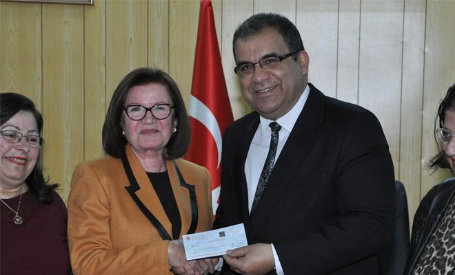 Sağlık Bakanlığı'na 100 bin TL bağış
