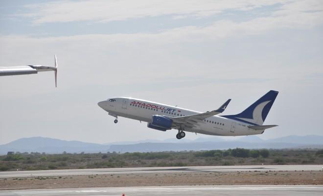 Ercan'da 23 uçuş etkilenecek