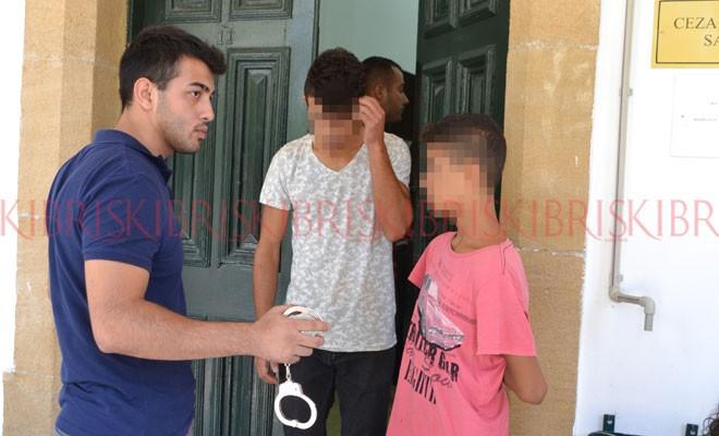 Çocuklar kefaletle serbest bırakıldı