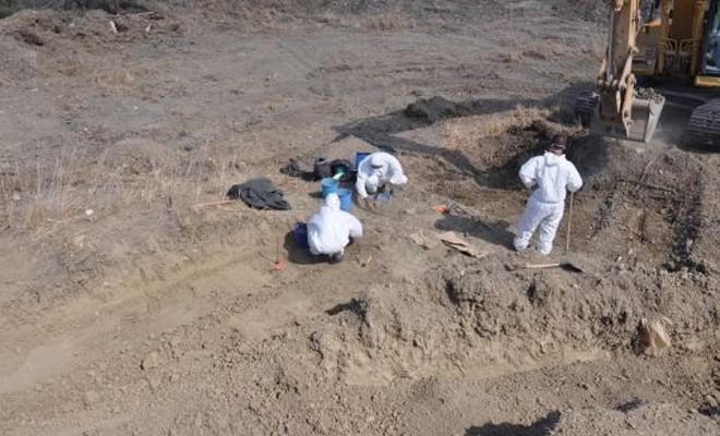 Kalıntılarına ulaşılan kişi sayısı Rum temsilci tarafından 3 olarak verildi