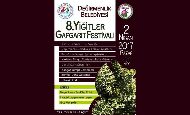 '8. Yiğitler Gafgarıt Festivali' bu pazar yapılıyor