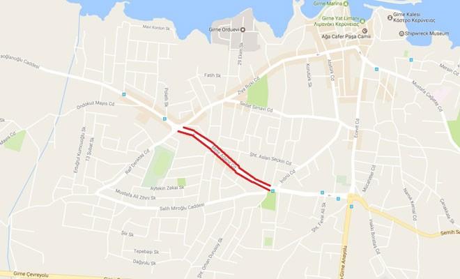 Mete Adanır Caddesi trafiğe kapatıldı