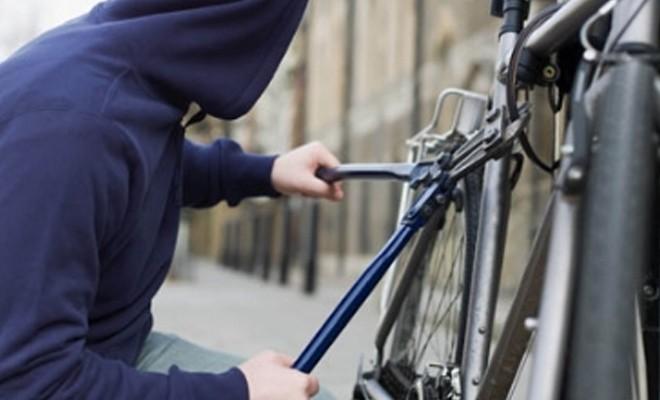 Belediyeye ait bisiklet çalındı
