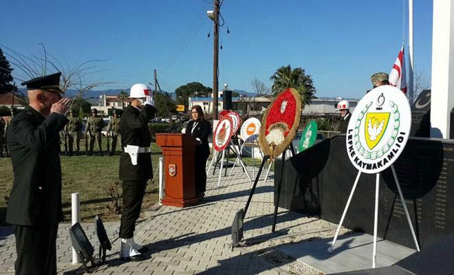 Gaziveren ve Çamlıköy direnişleri için tören düzenlendi