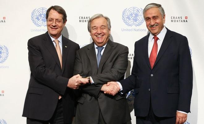 Süreç yeniden başlarsa, yeni zemin Guterres çerçevesi