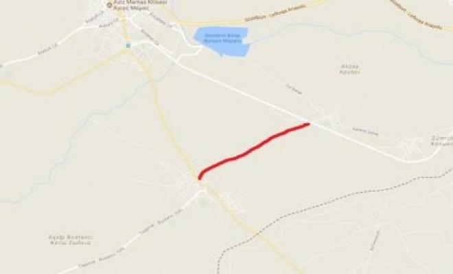 Bostancı – Akçay anayolu trafiğe kapatıldı