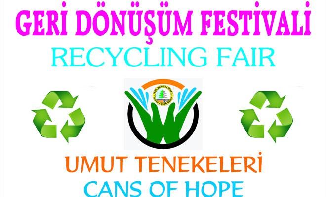 Mağusa'da Geri Dönüşüm Festivali yapılıyor