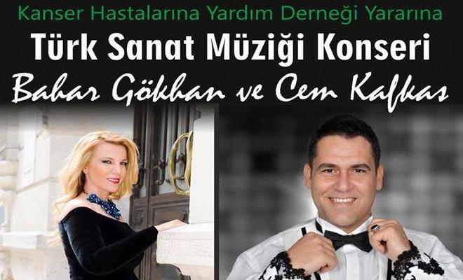 Bahar Gökhan ve Cem Kafkas'tan anlamlı konser