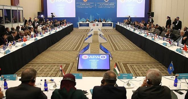 Türkiye, APA'nın başkanlığını yürütecek