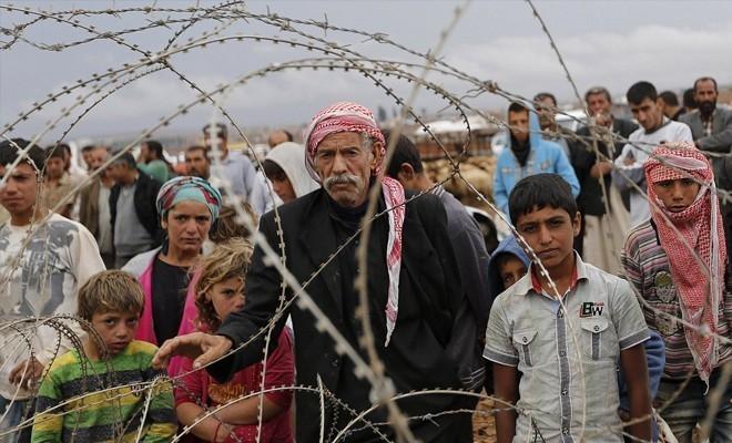 Kaymaklı'da 17 mülteci yakalandı