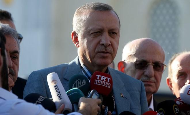 Erdoğan, Bayram'ın İslam dünyasında yeni bir uyanışa vesile olmasını diledi