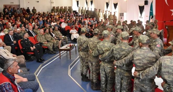 2017 Celbi erlerinin ant içme töreni yapıldı