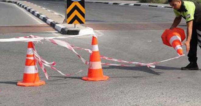 Mağusa'da bazı yollar yarın trafiğe kapalı
