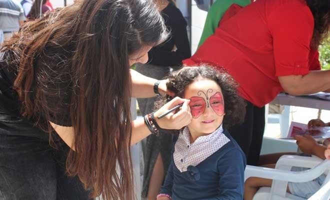 Mağusa'da kan bağışı etkinliği ile çocuk festivali bir arada