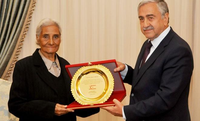 Cumhurbaşkanı, Berkalp'i onurlandırdı