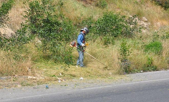 24 kilometrelik yol temizlendi