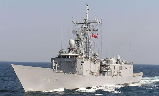 Türk donanması West Capella'yı izlemeye aldı