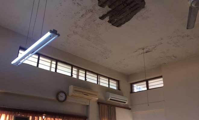 YDP: Girne Sosyal Sigortalar binası yıkılıyor