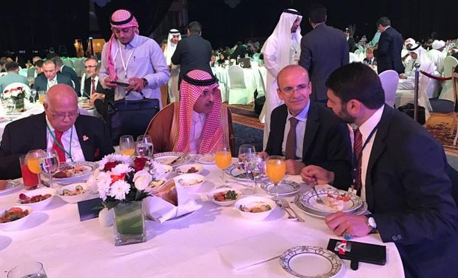 Atun, konuk bakanlar onuruna düzenlenen yemeğe katıldı