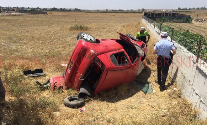 Alayköy'de kaza: 1 ağır yaralı